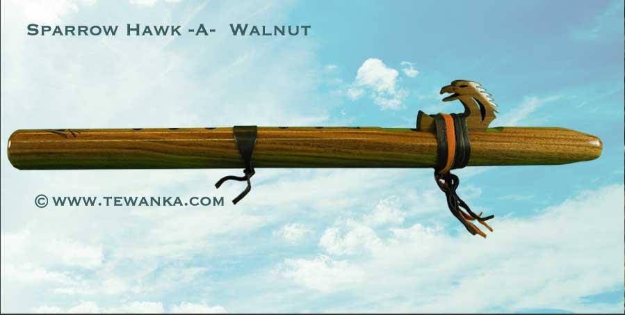 indianen-fluit-sparrowhawk-walnut-1