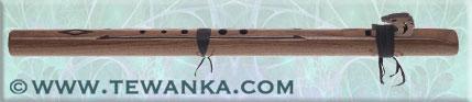 indianen-fluit-condorbass-B-walnut