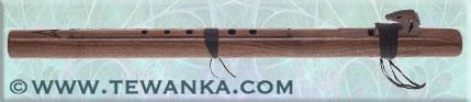 indianen-fluit-condorbass-C-walnut