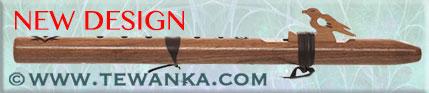 indianen-fluit-sparrow-hawk-walnut