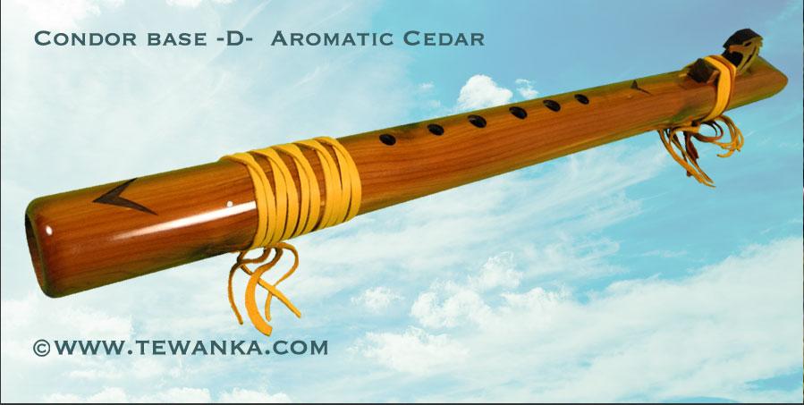 indianen fluit condor-base-D-2