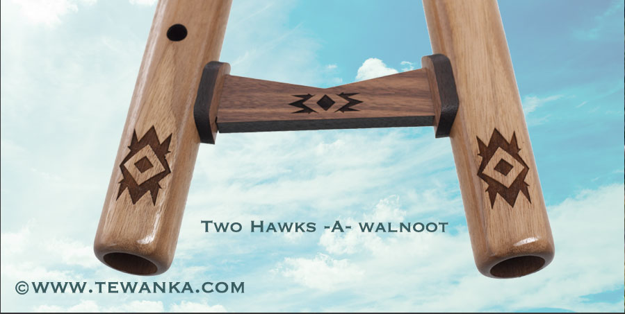 indianen-fluit-two_hawks-w3