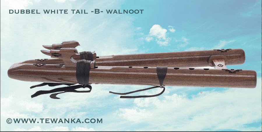 indianen-fluit-dubbel-whitetail-w1
