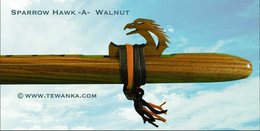indianen-fluit-sparrowhawk-walnut-3