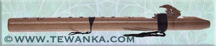 indianen-fluit-condorbass-D-walnut